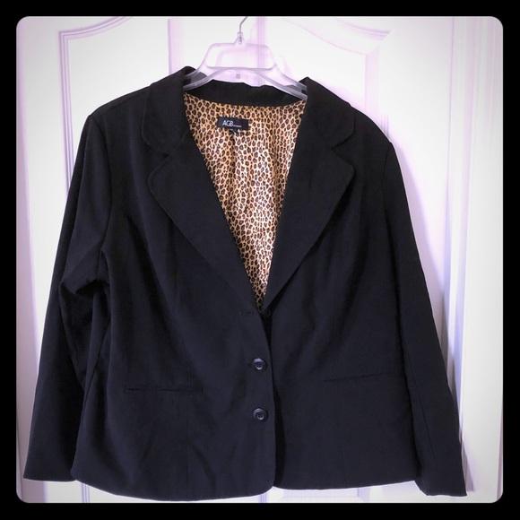 AGB Jackets & Blazers - Plus Black Blazer